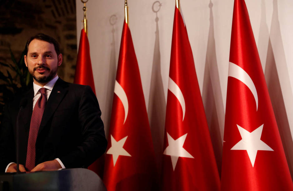 turkish-treasury-and-finance-minister-berat-albayrak-speaks-during-a-presentation-to-announce-his-economic-policy-in-istanbul-turkey-august-10-2018-reuters-murad-sezer