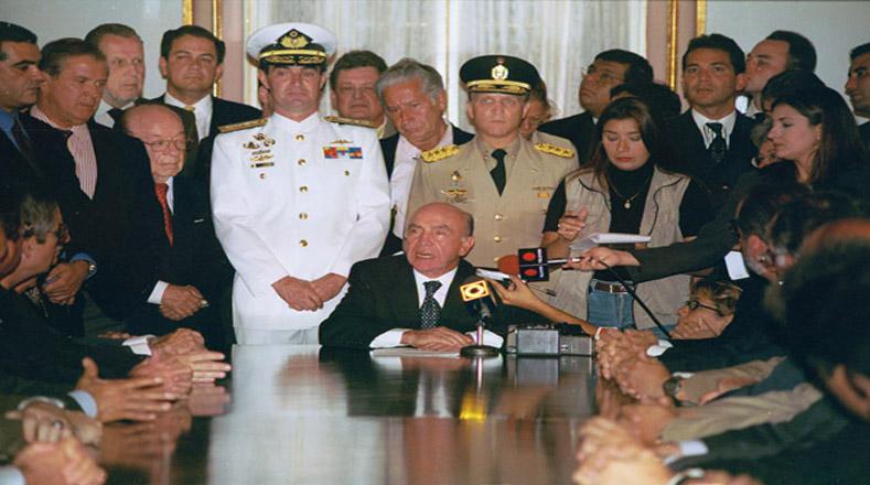 abril 2002, Carlos Molina Tamayo, Pedro Carmona Estanga