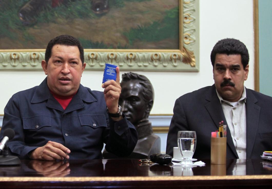 Hugo Chavez, Nicolas Maduro